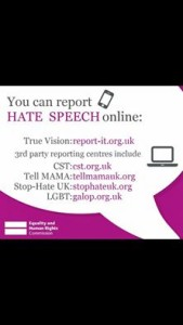 Reporting hate speech Aire Media